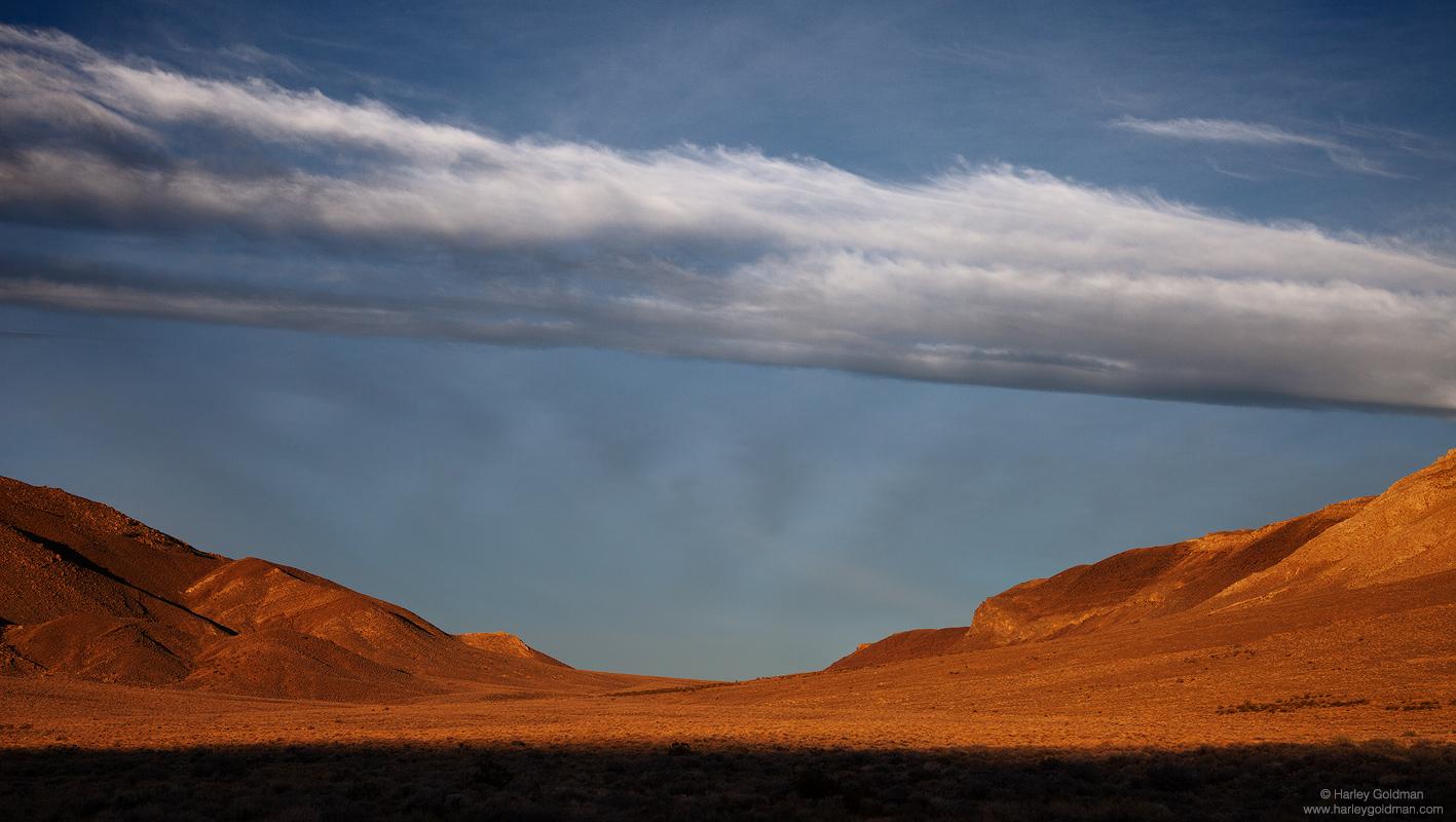 death, valley, butte, sunrise, cloud, photo