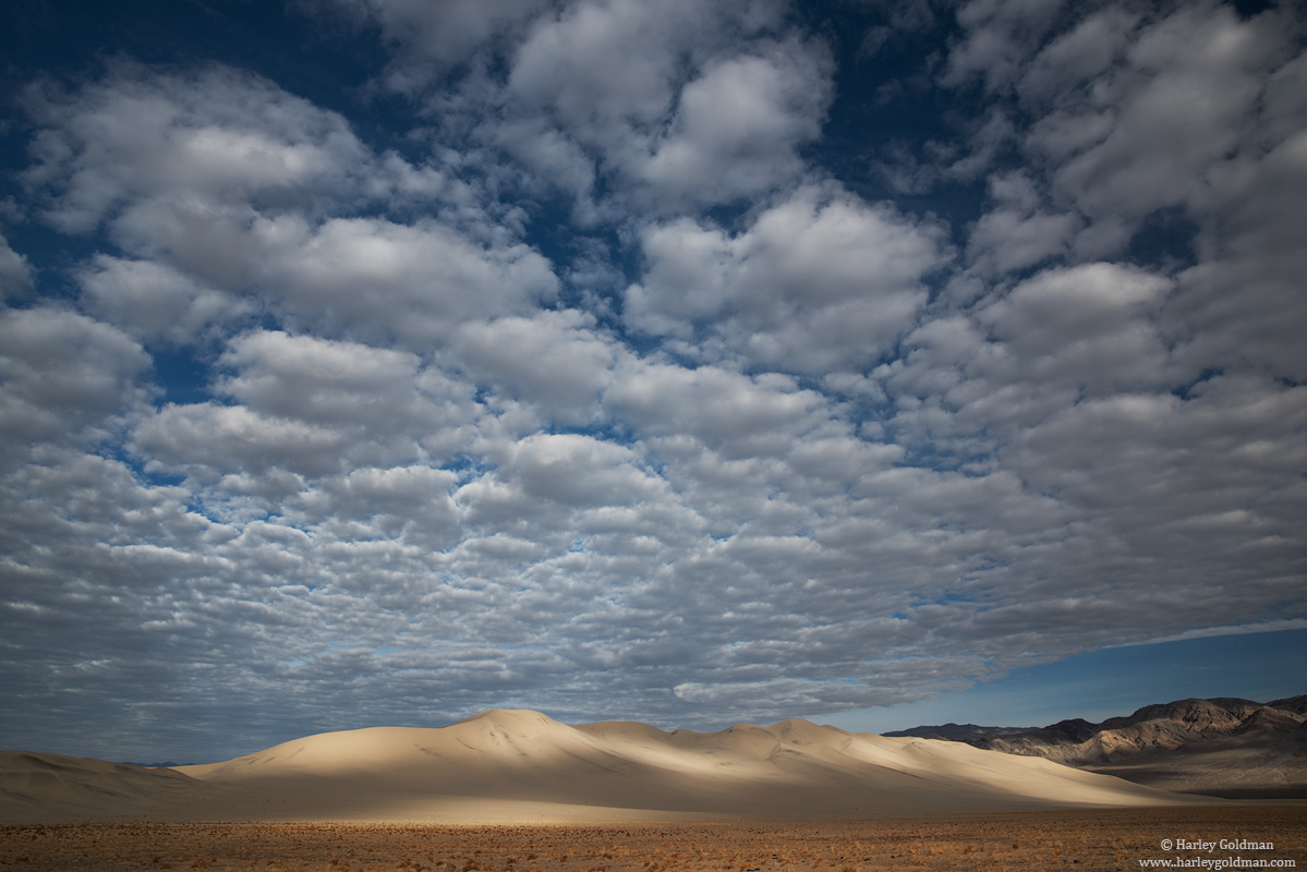 death valley, national, park, cloud, photo