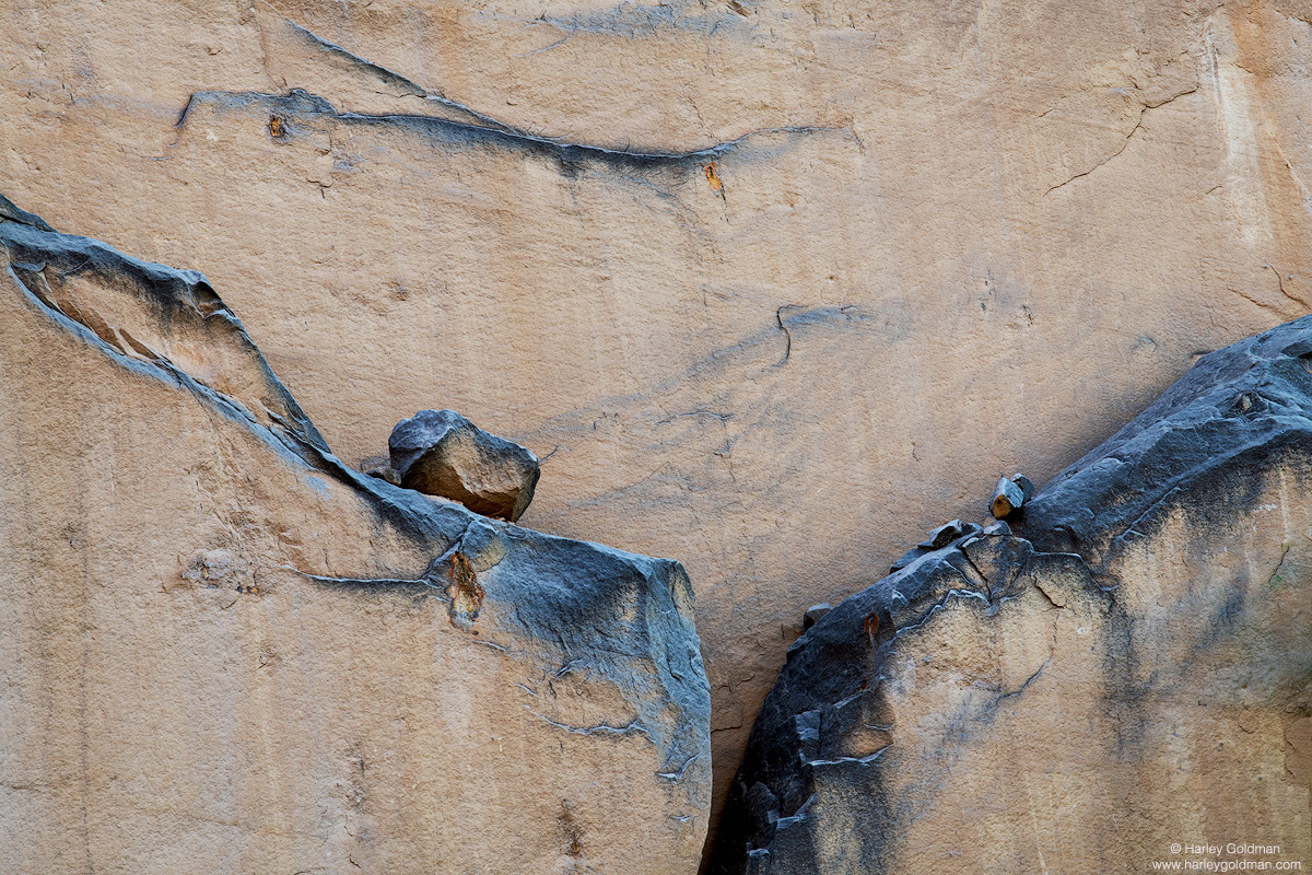 Utah, rock, sandstone, wall, boulder