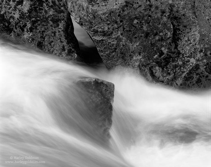 tenaya, creek, yosemite, national, park, spring, runoff, photo