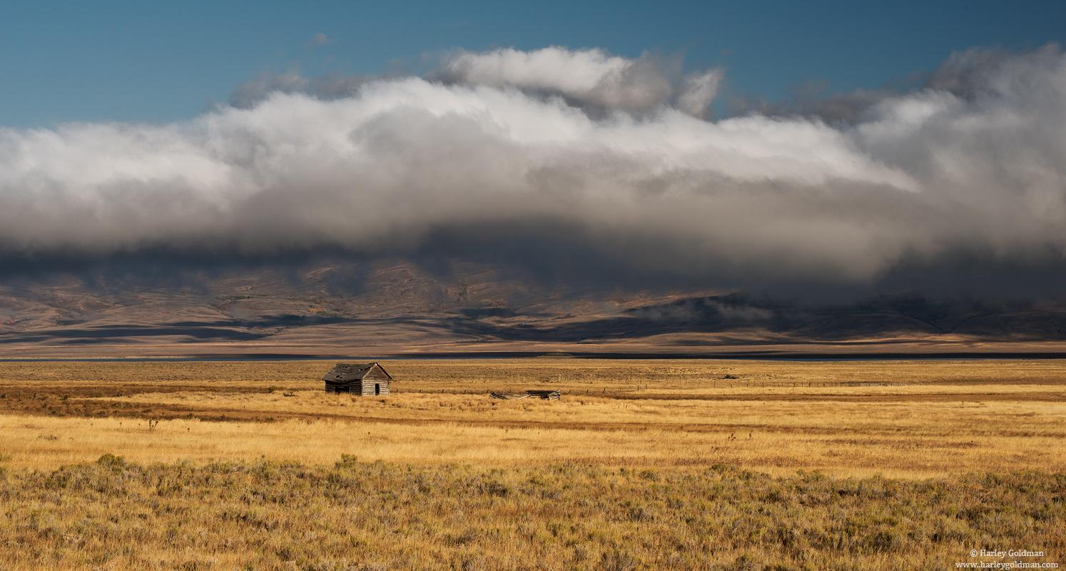 shed, Montana, photo
