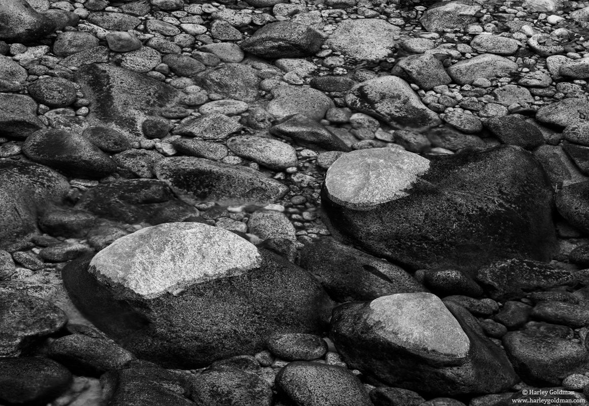 merced, river, yosemite, national, park, rock, dry water, photo