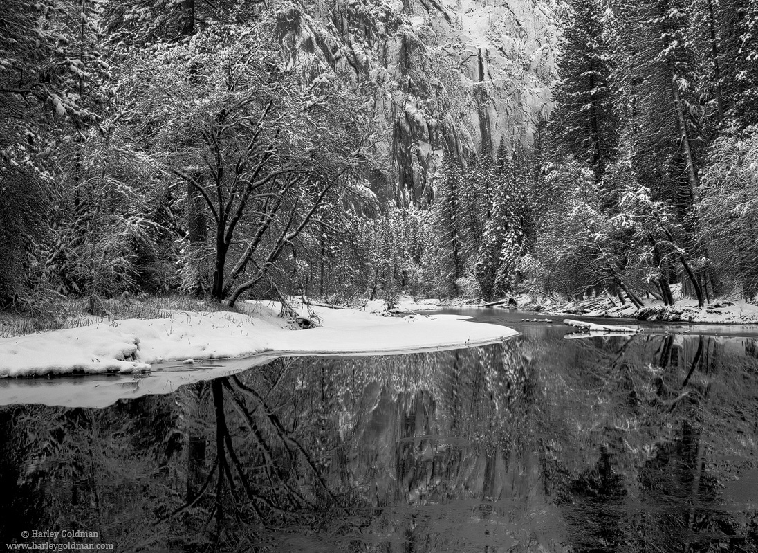 merced, river, yosemite, national, park, photo