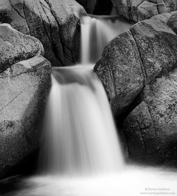 waterfall, deadman's, creek, sonora, pass, sierra, nevada, CA, photo