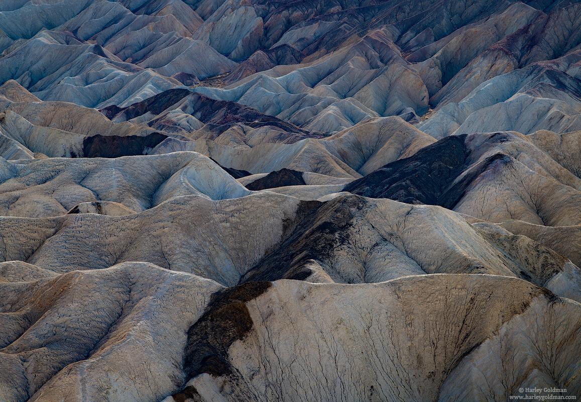 death valley, national, park, badlands