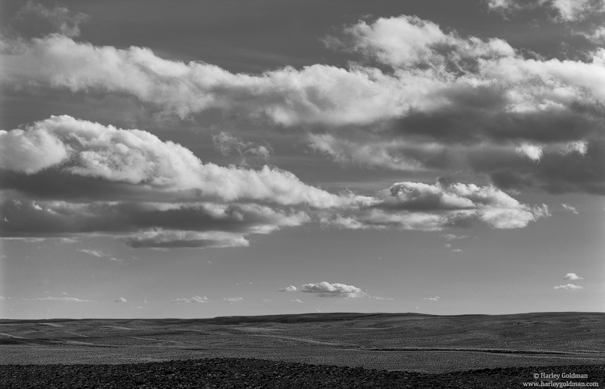 wyoming, sky, clouds, photo