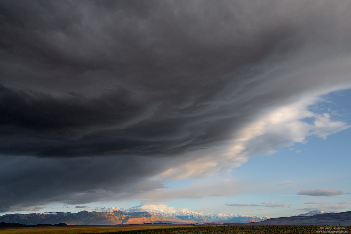 death valley, desert, sierra, nevada, mountain, mountains, cloud, morning